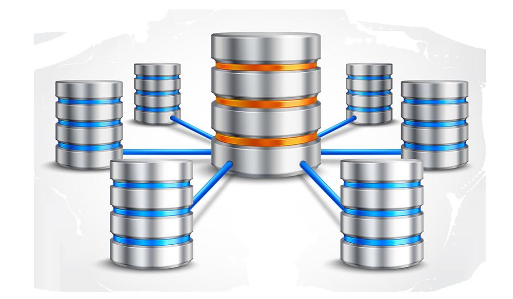 kopplade databaser